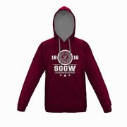 Bluza z kapturem SGGW bordo XL,