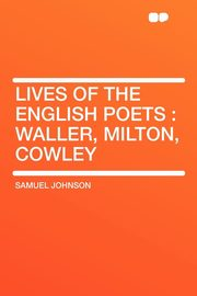 Lives of the English Poets, Johnson Samuel
