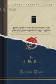 Lectures on the Agreement and Government of the English Language`, Hull J. H.