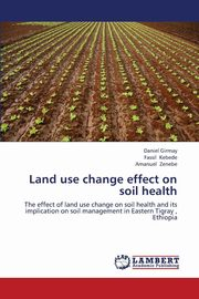 Land Use Change Effect on Soil Health, Girmay Daniel