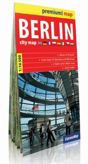 Berlin City Map 1:16 500,