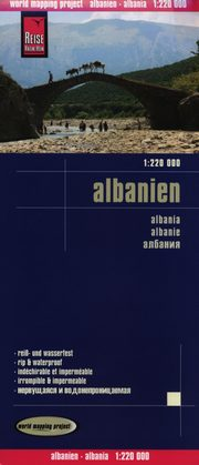 Albanien 1:220 000 Reise Know-How,