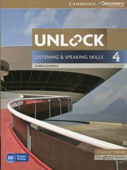 Unlock 4 Listening and Speaking Skills Student's Book and Online Workbook, Lansford Lewis