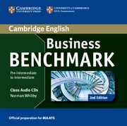 Business Benchmark Pre-intermediate to Intermediate Class Audio 2CD, Whitby Norman