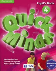 ksiazka tytuł: Quick Minds 4 Pupil's Book autor: Puchta Herbert, Gerngross Gunter, Lewis-Jones Peter
