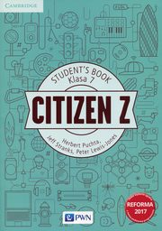 Citizen Z Klasa 7 Student's Book, Puchta Herbert, Stranks Jeff, Lewis-Jones Peter