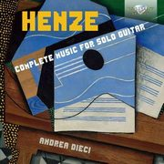 Henze Complete Music For Solo Guitar,