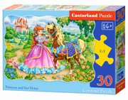 Puzzle Princess and her Horse 30,