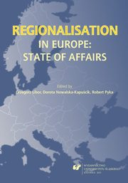 Regionalisation in Europe: The State of Affairs - 01